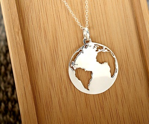 necklace, accessories, and earth image