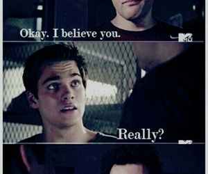 coach, teen wolf, and dylan sprayberry image