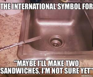 funny, international, and symbol image