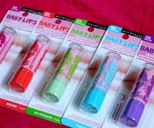 baby lips, makeup, and babylips image