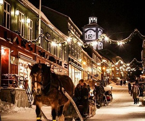 christmas, holiday, and norway image
