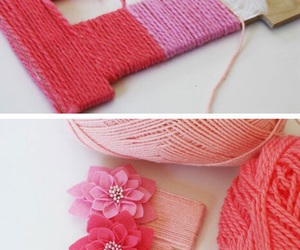 diy, pink, and crafts image