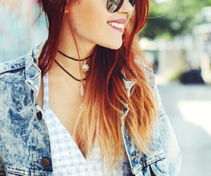 beautiful, glasses, and hipster image