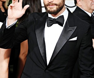 Jamie Dornan, fifty shades of grey, and golden globes image