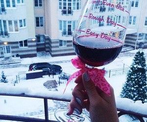 snow and wine image