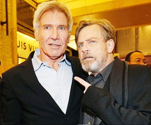 harrison ford, star wars, and mark hamill image