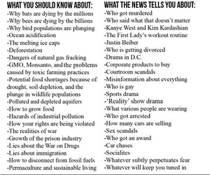 media, facts, and misinformation image