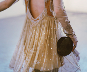dress, hipster, and vintage image