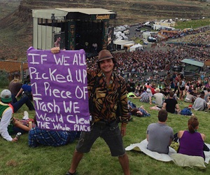 concert, good vibes, and sasquatch music festival image