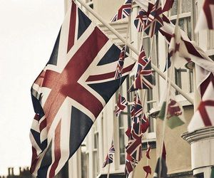 flag, london, and england image
