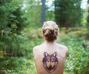Espalda, gilr, and tatoos image