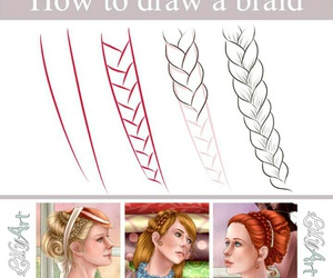 braid, drawing, and how to image