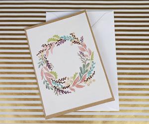 cards, christmas, and greeting image