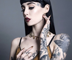 hannah snowdon, tattoo, and hannah pixie snowdon image