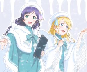 anime girl, nozomi tojo, and eli image