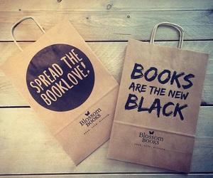 bags, book, and books image