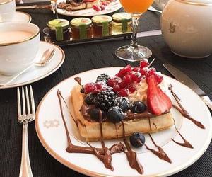 food, chocolate, and breakfast image