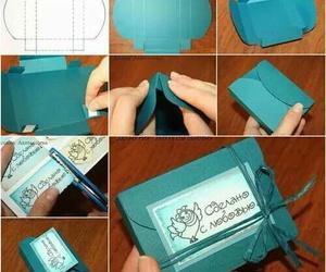 diy, present, and box image