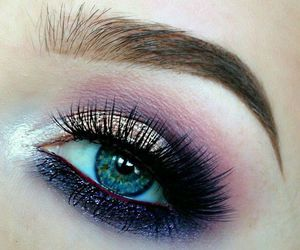 eyes, makeup, and eye makeup image