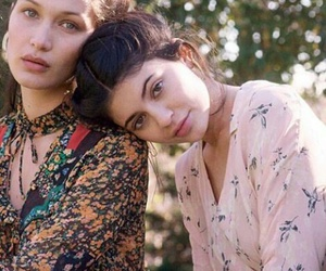 kylie jenner, bella hadid, and jenner image