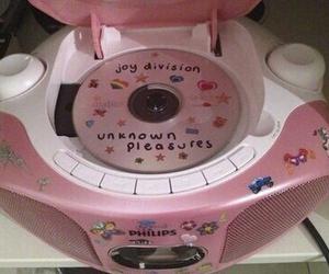 pink, cd, and joy division image