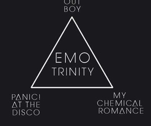 emo, yes, and FOB image