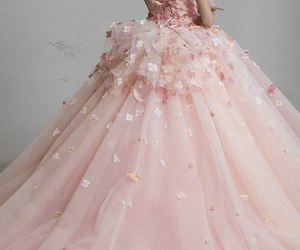 dress, gown, and fashion image