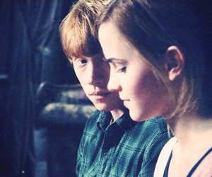 harry potter, love, and hermione image