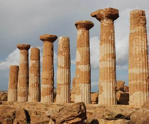 ancient, greek, and Temple image