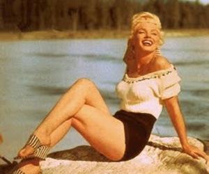 Marilyn Monroe and model image