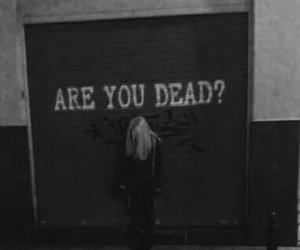 dead, grunge, and sad image