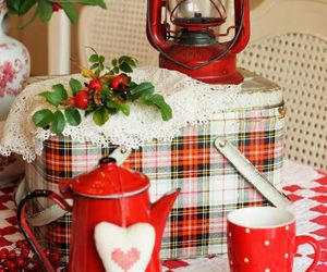 home decor and red image