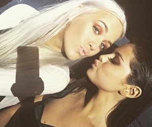 selena gomez, lottie tomlinson, and selena image