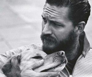 tom hardy, dog, and man image