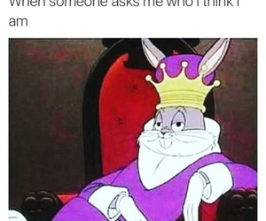 funny, lol, and bugs bunny image