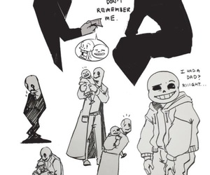 undertale and w.d+gaster image