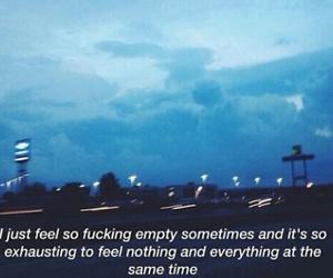 blue, sadness, and grunge image