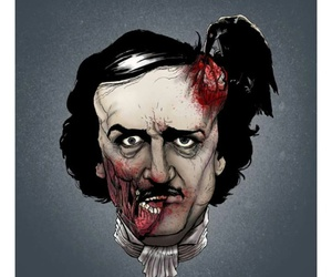 Edgar Allen Poe and nevermore image
