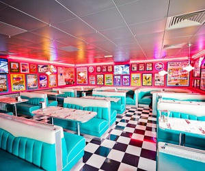50s and diner image