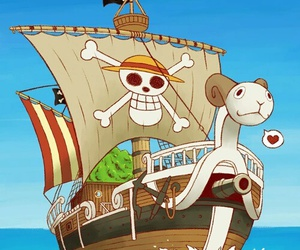 one piece and going merry image