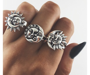 boho, jewelry, and rings image