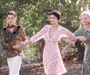 kylie jenner, bella hadid, and lottie moss image