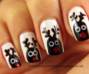 nails, winter, and rodolf image