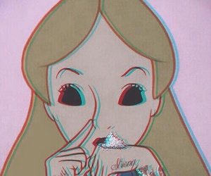 alice, drugs, and cocaine image