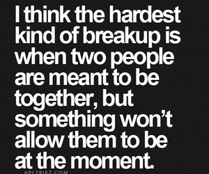 love, breakup, and quotes image