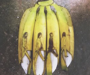 banana and beatles image