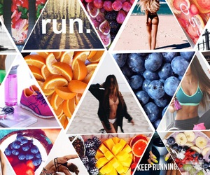 run and sport image