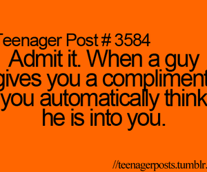 compliment, guy, and text image