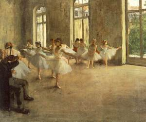 ballet, art, and degas image