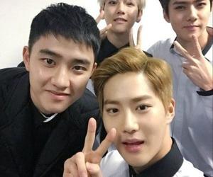 sehun, d.o, and baekhyun image